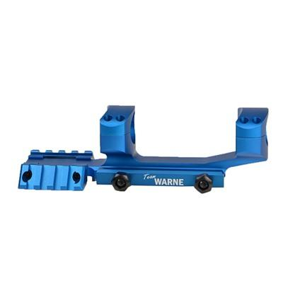 Warne Mfg. Company Ar-15/M16 R.A.M.P. Tactical Mount - Tactical R.A.M.P Mount 1 Inch Blue