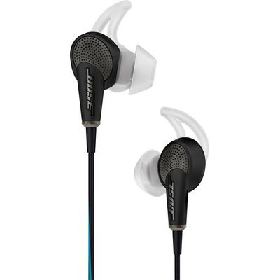 Bose QC20 in-ear noise cancelling headphones (black) for IOS