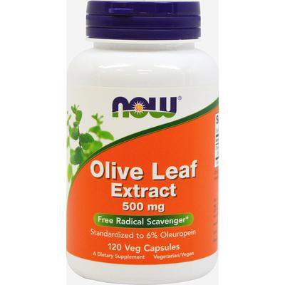 NOW Foods Olive Leaf Extract 500 mg-120 Vegi Caps
