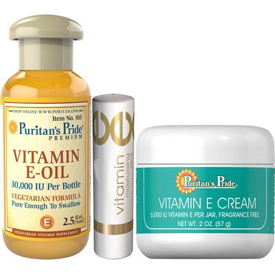Kit Vitamin E Skin Care Kit-3 Pack