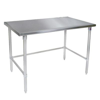 John Boos ST4-3096SSK 96 14 ga Work Table w/ Undershelf & 300 Series Stainless Flat Top on Sale