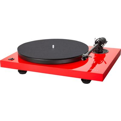 Music Hall MMF-2.3 LE Gls Red turntable w.carbon fiber arm