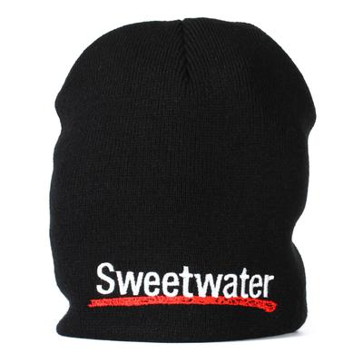 Sweetwater Logo Beanie Hat - Black