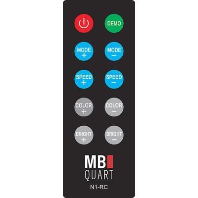MB Quart N1-RC Wireless RF LED Remote for RGB Speakers on Sale