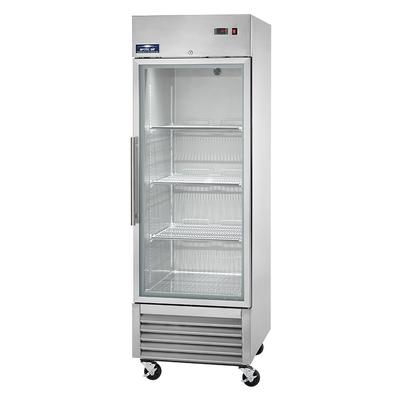 Arctic Air AGR23 27 One Section Reach In Refrigerator, (1) Right Hinge Glass Door, 115v