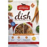 Rachael Ray Nutrish Dish Natural Beef & Brown Rice Recipe with Veggies, Fruit & Chicken Dry Dog Food, 3.75-lb bag