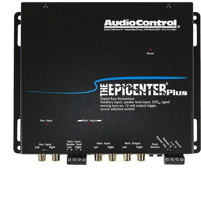 AudioControl Epicenter Plus Bass Restoration Processor + Aux Input