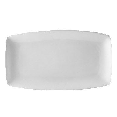 CAC COP-313 Rectangular Platter - 12 x 6.63, Porcelain, New Bone White on Sale