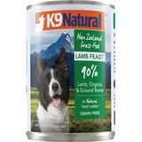 K9 Natural Grass-Fed Lamb Feast Grain-Free Canned Dog Food, 13-oz, case of 12
