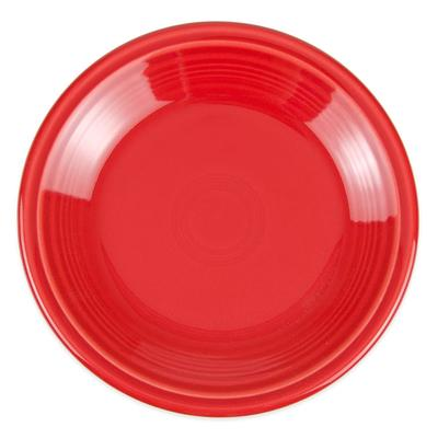 Homer Laughlin 464326 7.25 Round Fiesta Plate - China, Scarlet on Sale