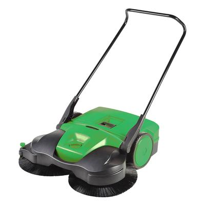 Bissell BG-497 38 Push-Power Deluxe Sweeper w/ (3) Brushes, Green