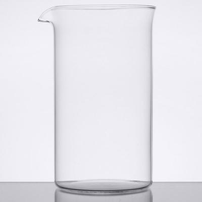 World Tableware 73590G 17 oz. / 2 Cup French Press Replacement Carafe / Stirring Glass - 12/Case