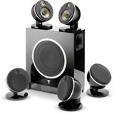 Focal - Focal Dome 51F Flax BK 5.1 channel speaker system w.SubAir