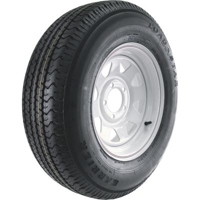 Martin Wheel Carrier Star 14 Inch Radial Trailer Tire and Wheel Assembly - ST205/75R-14, 5-Hole, Load Range C, Model DM205R4C-5CIN on Sale