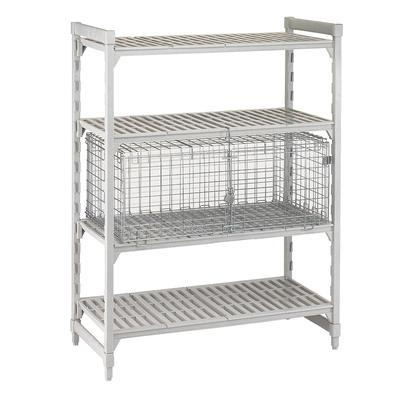 Cambro CSSC244818000 42.5 Stationary Security Cage, 25.25D on Sale