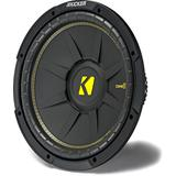Kicker CompC 44CWCD124 12 Dual 4-ohm Component Subwoofer