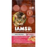 Iams ProActive Health High Protein Chicken & Salmon Recipe Dry Cat Food, 6-lb bag