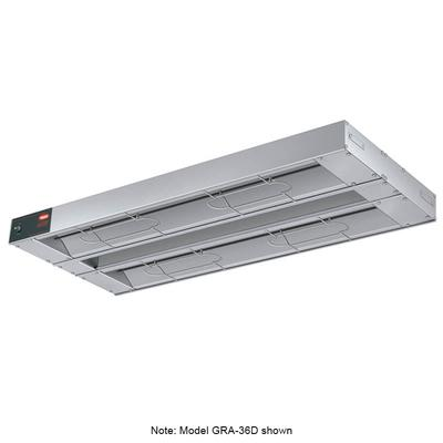 Hatco GRA-72D6 72 Standard Watts Infrared Strip Warmer - Double Rod, (2) Built In Toggle Control, 120v