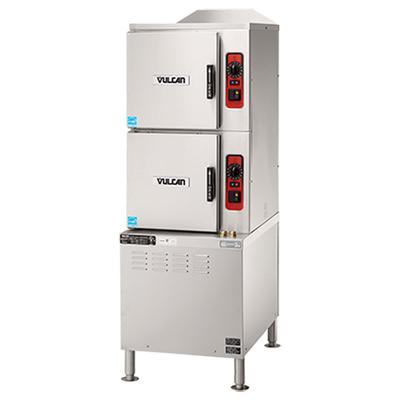 Vulcan C24ET6-LWE (6) Pan Convection Steamer - Cabinet, 208v/3ph on Sale