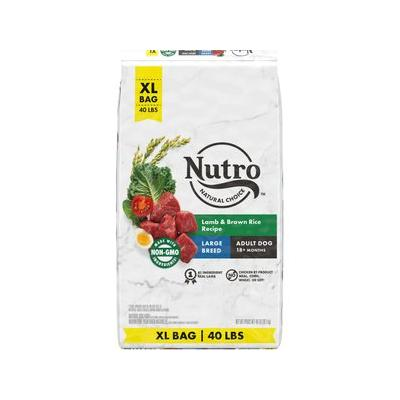 Nutro Wholesome Essentials Large Breed Adult Lamb & Rice Recipe Dry Dog Food, 40-lb bag