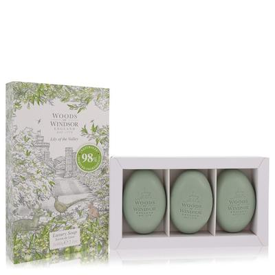 Lily Of The Valley (woods Of Windsor) For Women By Woods Of Windsor Three 2.1 Oz Luxury Soaps 2.1 Oz