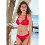Marilyn Push UP BRA TOP Push-Up Bikini Tops - RED