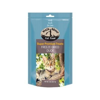 Walk About Grain-Free Freeze Dried Duck Cat Treats, 2-oz bag