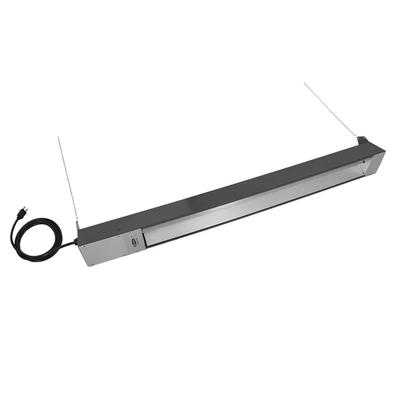 TPI OCH-46-120VCE 48 Ceiling-Mount Indoor/Outdoor Infrared Heater - Brown, 120v on Sale