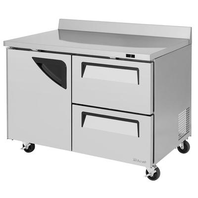 Turbo Air TWF-48SD-D2-N 12 cu ft Worktop Freezer w/ (2) Sections, (1) Door & (2) Drawers, 115v on Sale