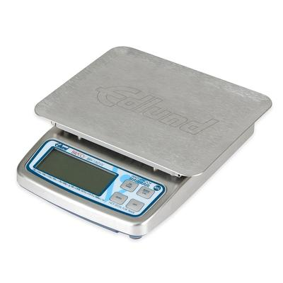 Edlund BRV-160W 10 lb Waterproof Digital Portion Control Scale - 5.63 x 7, Stainless, 115v on Sale