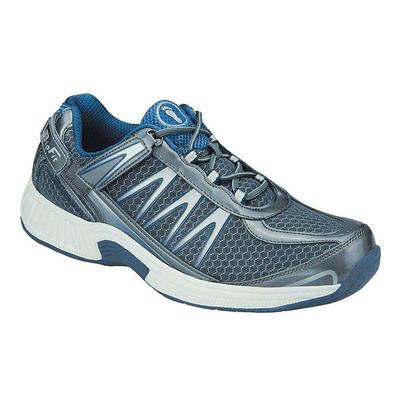 #1 Orthopedic Arch Support Diabetic Arthritis Men's Sneakers | OrthoFeet, 9.5 / Wide / Gray