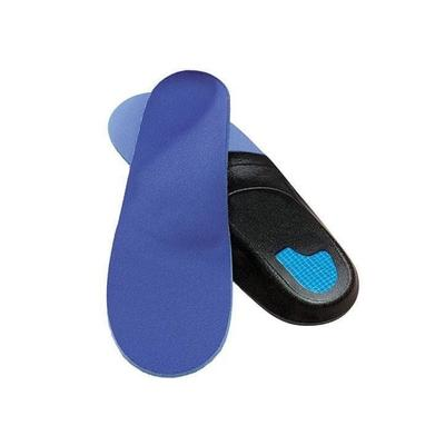 #1 Plantar Fasciitis Relief Arch Support Orthotic Insoles Shoe Inserts For Women| OrthoFeet, 5 / Blue