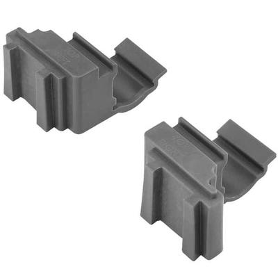 Cambro CBCC10580 Camshelving Basics Corner Connector Set, Brushed Graphite on Sale
