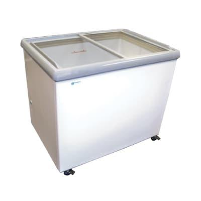 Excellence Industries SPOT-6HC 44.25 Dual-Temp Display Merchandiser - White, 115v on Sale
