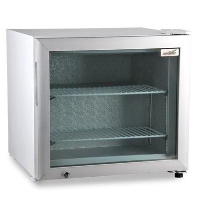 Excellence Industries CTF-2HC 22.5 One-Section Display Freezer w/ Swinging Door - Rear Mount Compressor, White, 115v