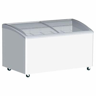 Excellence Industries VB-5HC 48.75 Stand Alone Ice Cream Freezer w/ 5 Baskets Capacity - White, 115v on Sale