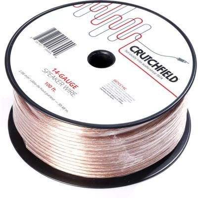 Crutchfield 14 Gauge Wire 100 Foot Roll