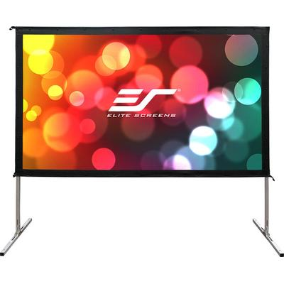 Elite Screens OMS150H2-Dual Outdoor Projection Screen 150""