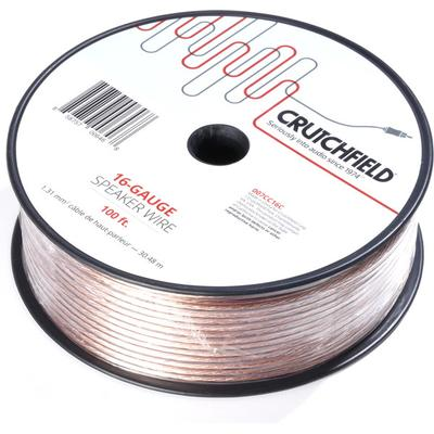 Crutchfield 16 Gauge Wire 100 Foot Roll