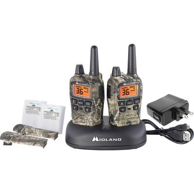 Midland T75VP3 X-Talker 2 GMRS Mossy Oak with Charging Dock