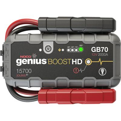 Noco Genius Boost HD GB70 2000 Amp 12V Lithium Jump Starter