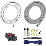 T-Spec V10-S2001 20-ft 0/1 Gauge Marine Amp Kit