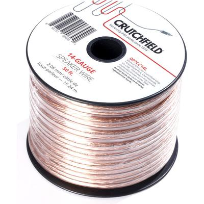 Crutchfield 14 Gauge Wire 50 Foot Roll