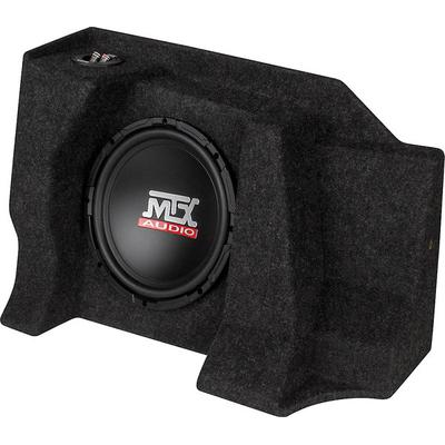 "MTX T-form 07-up Chevy 1500 ExtCab Black w/ 10"" Sub and Amp"