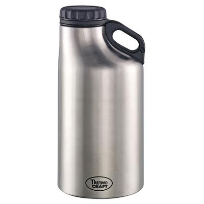 Service Ideas GRW64BS 64 oz Vacuum-Insulated Growler, Stainless Steel on Sale