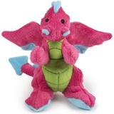GoDog Dragons Chew Guard Dog Toy, Pink, Small