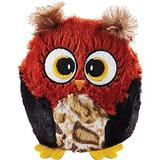 Ethical Pet Hoots Owl Squeaky Plush Dog Toy, Color Varies, 3-in
