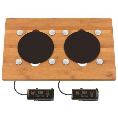 Rosseto BP007 Drop-In Commercial Induction Cooktop w/ (2) Burners, 110v on Sale