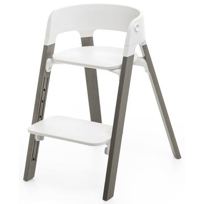 Stokke Steps Chair - White/Hazy ...
