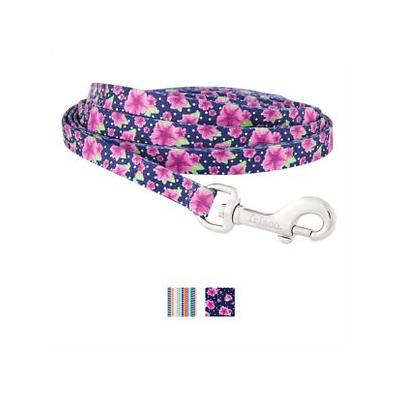 Frisco Patterned Dog Leash, Midnight Floral, 4-ft, 1-in